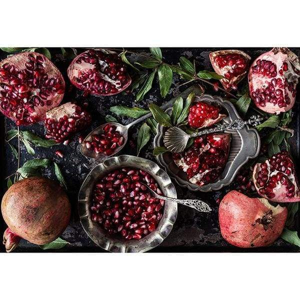 Samesyn Place Mats Pomegranate on Baking Tray - Pomegranate on Baking Tray - House & Home