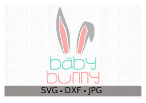 Baby Bunny - Personalize It Etc