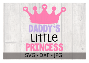 Daddy's Little Princess - Personalize It Etc
