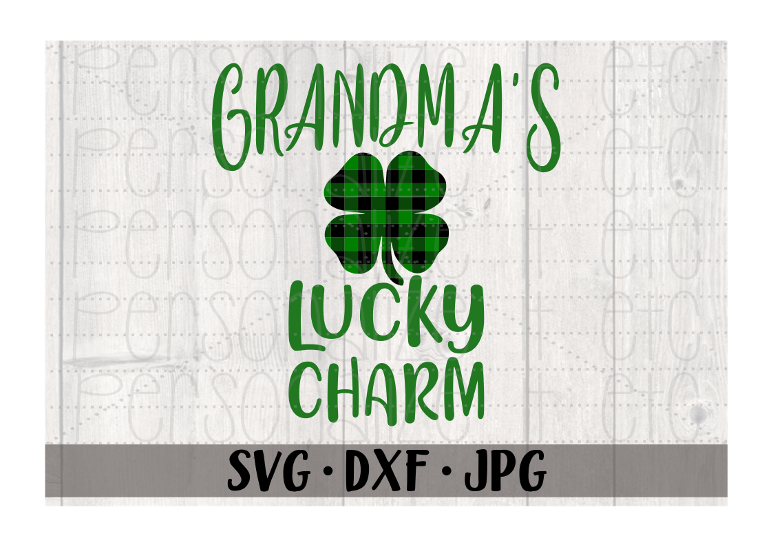 St Patrick S Day Svg Files For Cricut Or Silhouette Personalize It Etc