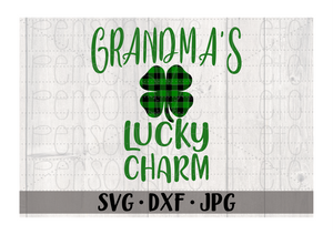 Grandma's Lucky Charm - Personalize It Etc