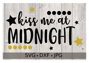 Kiss me at Midnight - Personalize It Etc