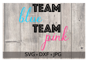 Team Blue Team Pink - Personalize It Etc