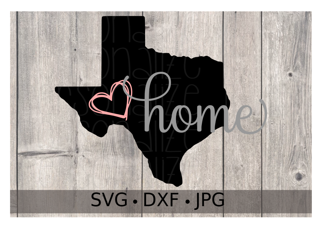 Texas- Home - Personalize It Etc