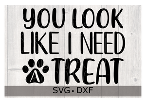 You Look Like I Need A Treat SVG