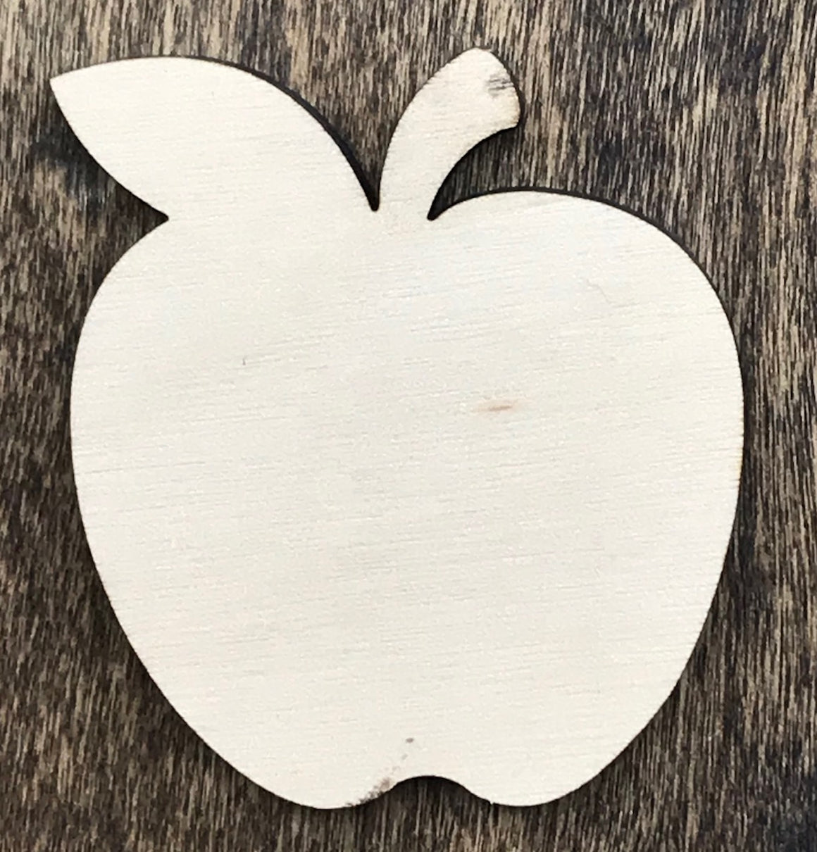 Apple - Unfinished Wood Blank | Unpainted