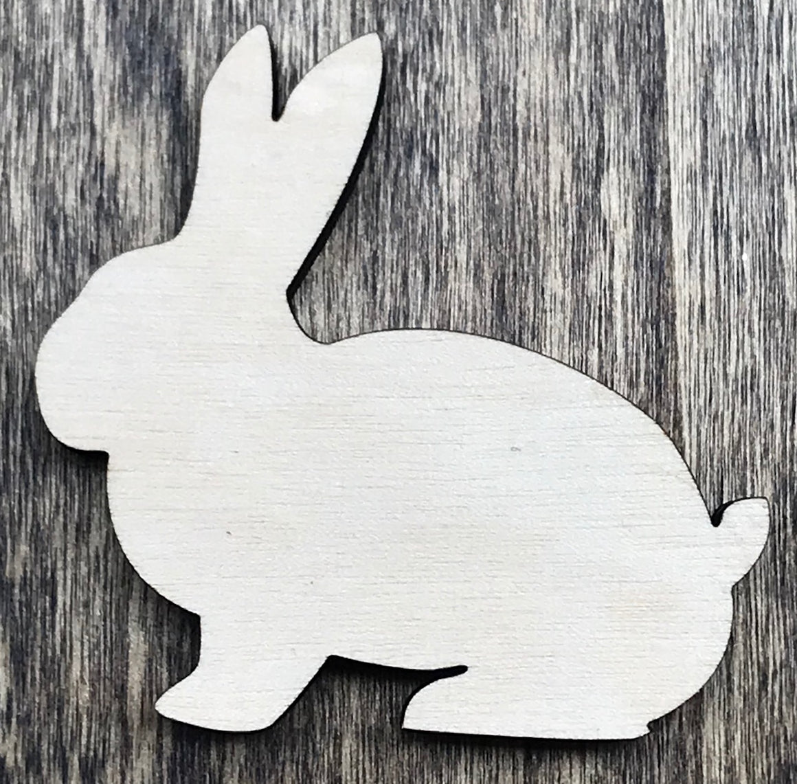 Bunny Rabbit - Unfinished Wood Blank | Unpainted