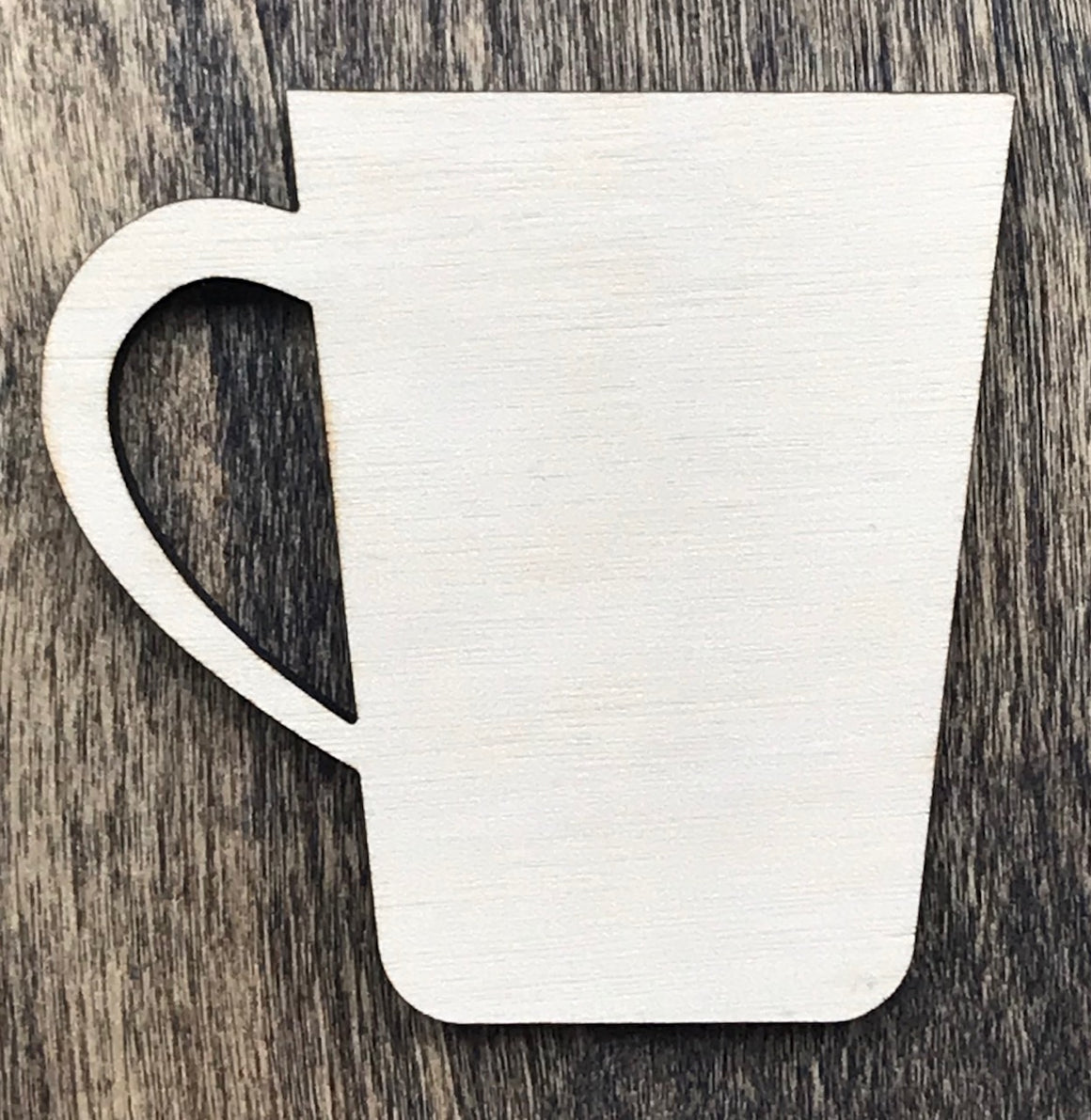 Coffee Mug - Unfinished Wood Blank | Unpainted