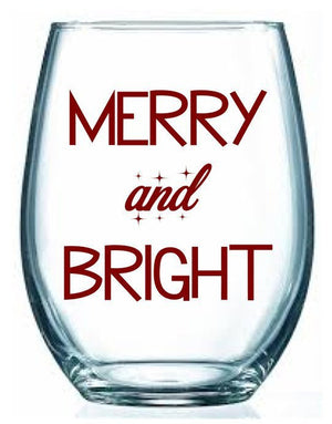 Merry and Bright - Personalize It Etc