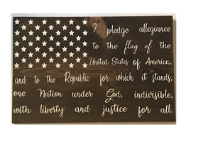 Pledge of Allegiance - Personalize It Etc