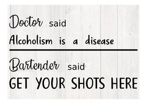 Alcoholism - Personalize It Etc