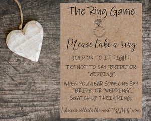 The Ring Game - Personalize It Etc