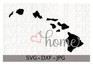 Hawaii- Home - Personalize It Etc