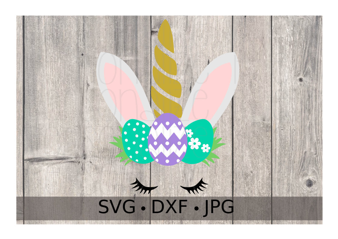 Unicorn Easter Bunny - Personalize It Etc