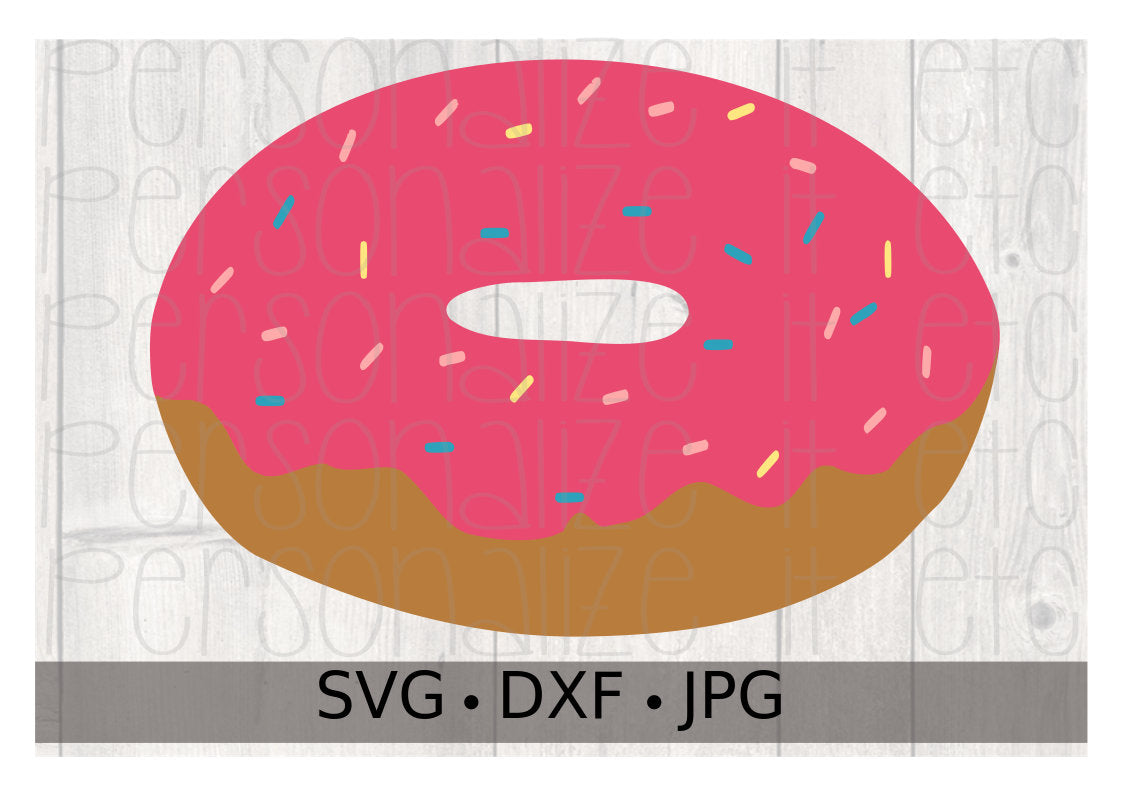Sprinkled Donut - Personalize It Etc