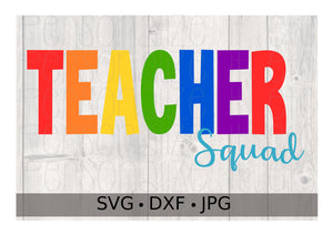 Teacher Squad - Personalize It Etc