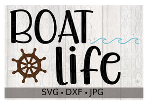 Boat Life - Personalize It Etc