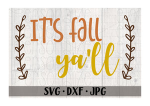 It's Fall Ya'll - Personalize It Etc
