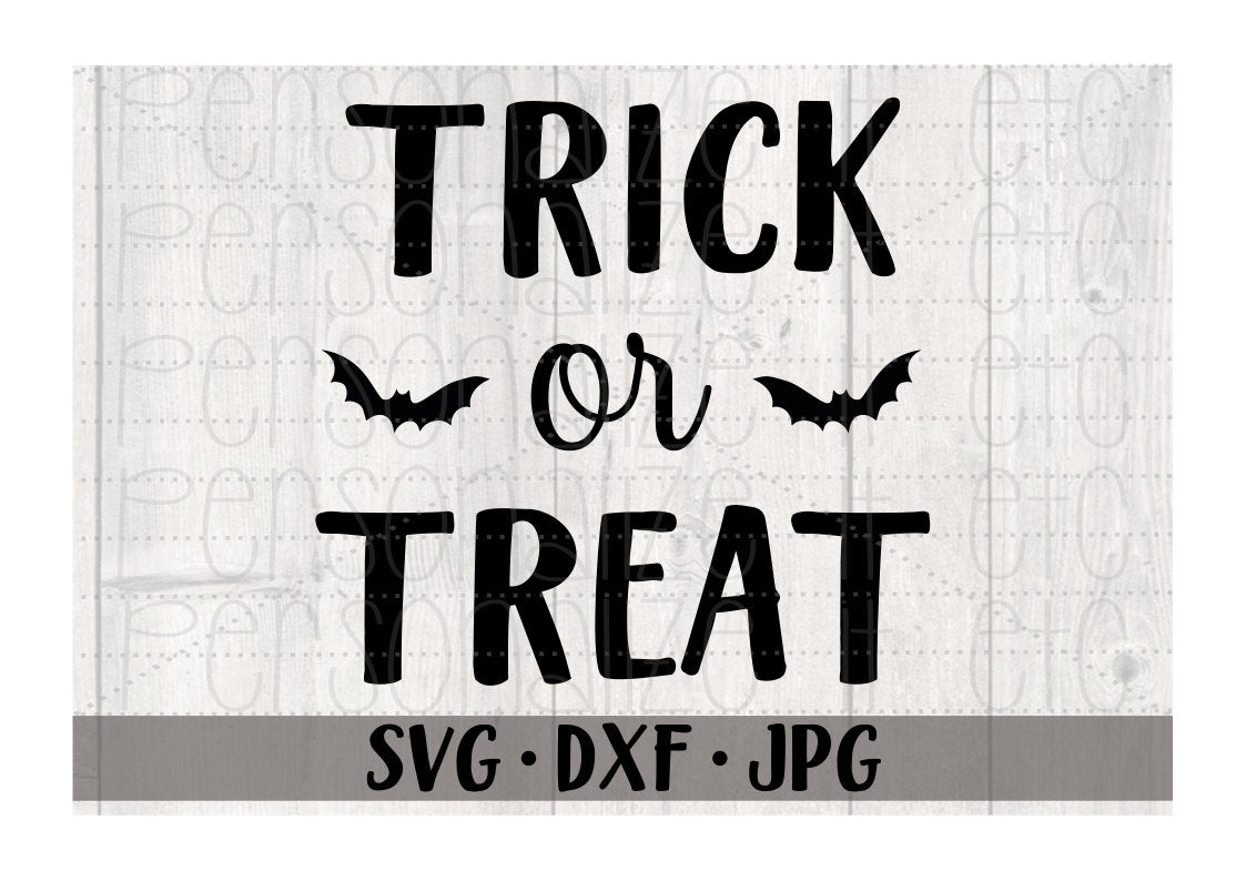 Trick Or Treat - Personalize It Etc