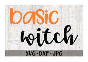 Basic Witch - Personalize It Etc
