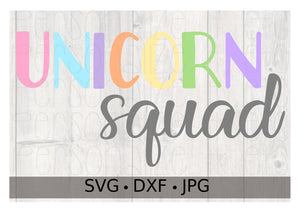 Unicorn Squad - Personalize It Etc