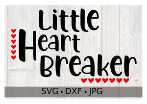 Little Heart Breaker - Personalize It Etc