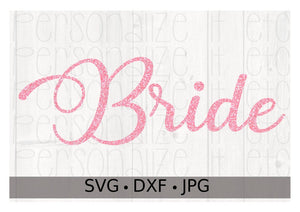 Bride - Personalize It Etc