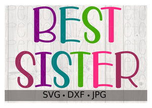 Best Sister - Personalize It Etc