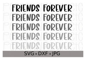 Friends Forever - Personalize It Etc