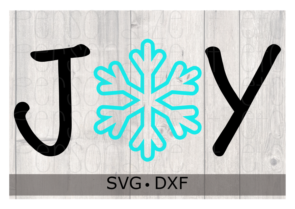 Joy SVG DXF