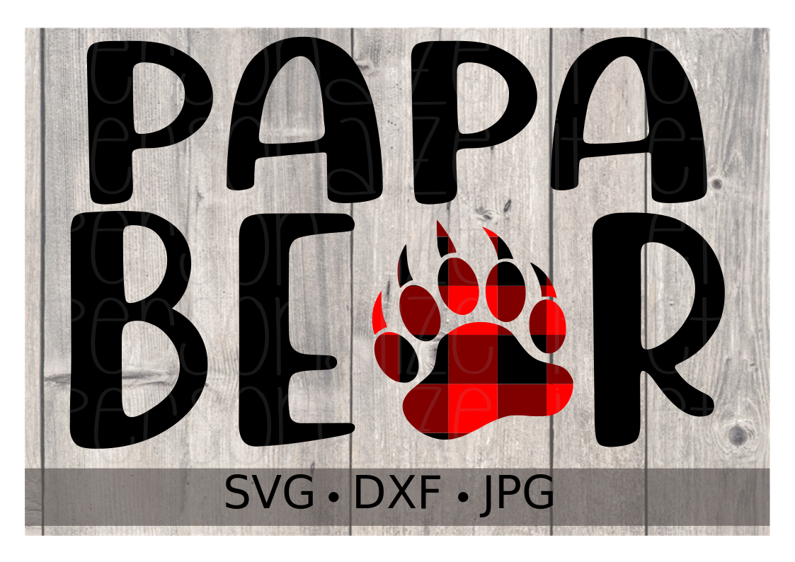 Papa Bear - Personalize It Etc