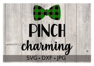 St. Patty's Day Pinch Charming Buffalo Plaid - Personalize It Etc