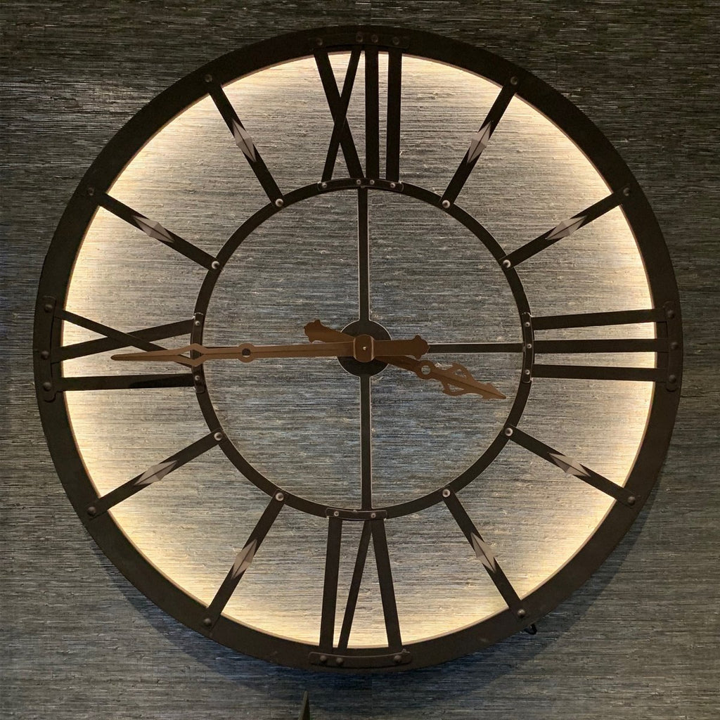 Atticus Large Light Up Wall Clock