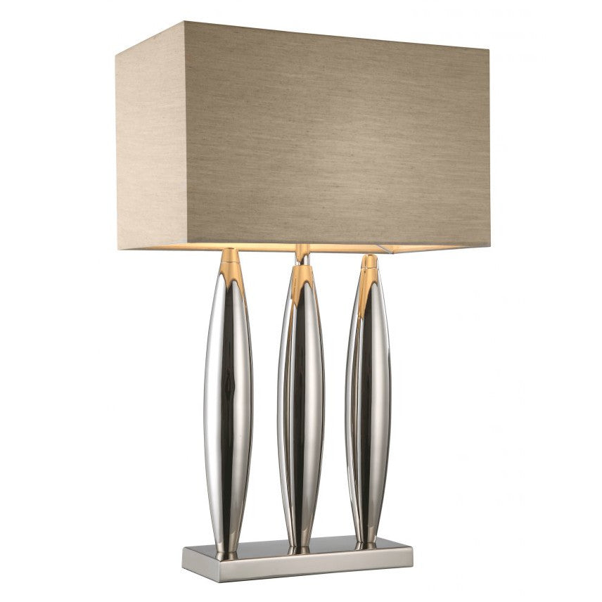 RV Astley Dari Nickel Table Lamp