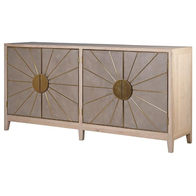 Balust Sideboard Sunburst Chest