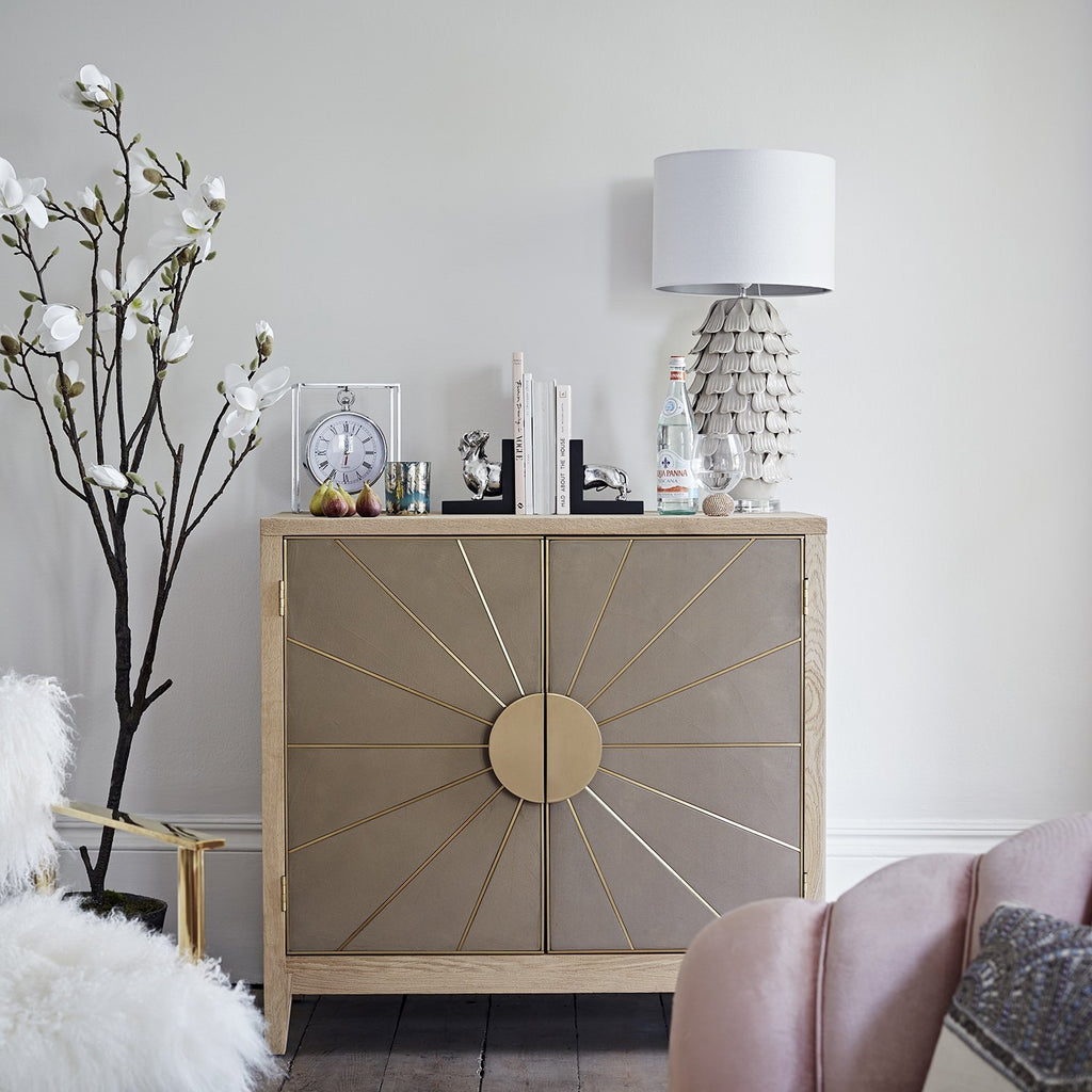 Balust Small Sunburst Sideboard