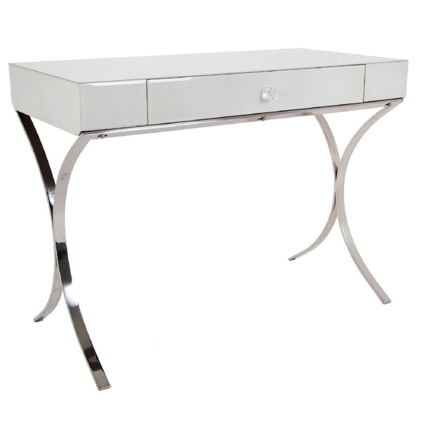 Betsy Iced Ivory Shagreen Dressing Table