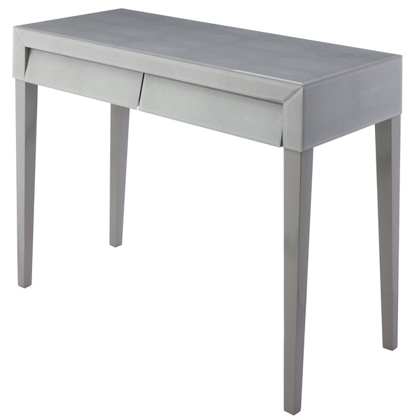 Betsy Soft Grey Shagreen Dressing Table