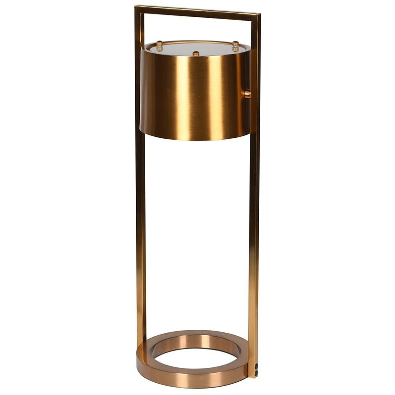 Boss Brass Effect Spot Table Lamp