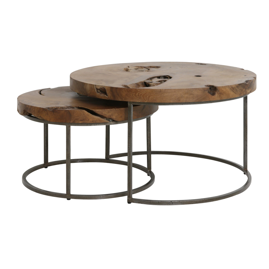 Bowland Coffee Tables in Wood
