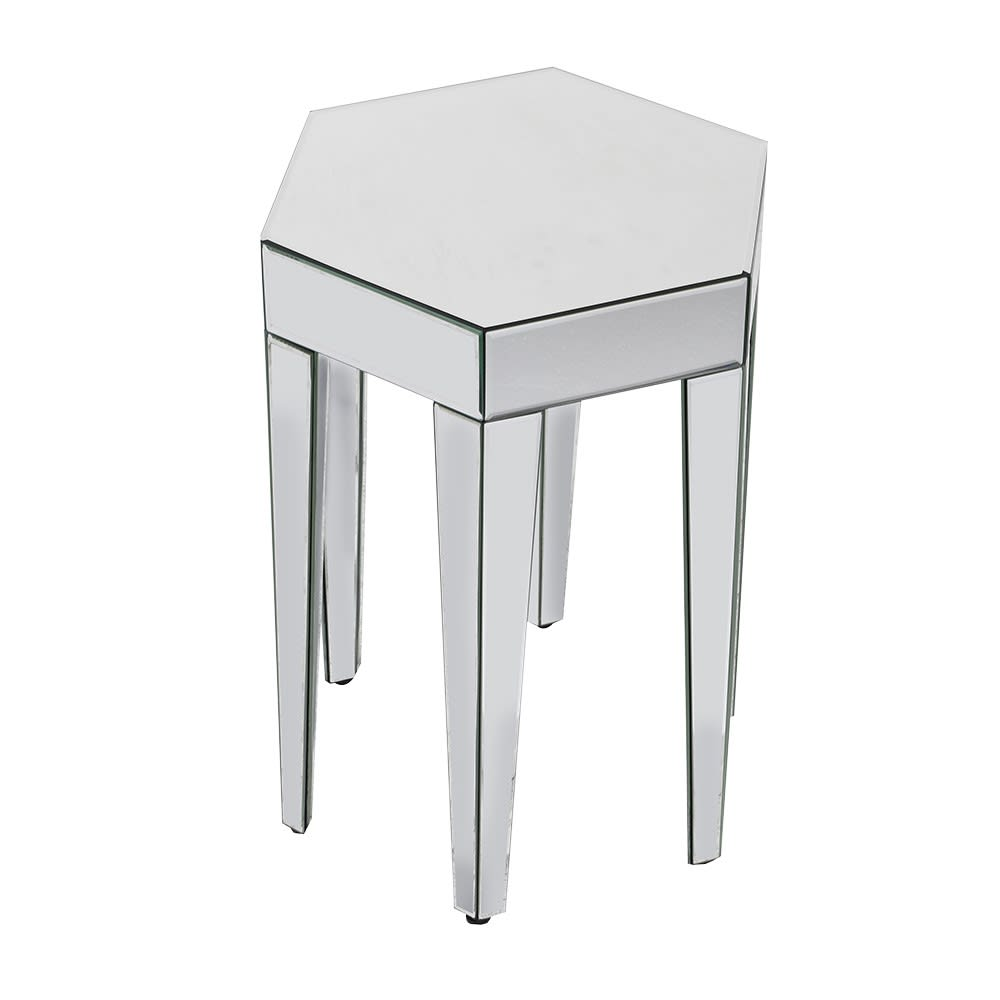 Brisbane Side Table with Mirror