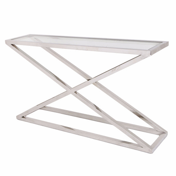 Console tables shropshire design for White and glass console table
