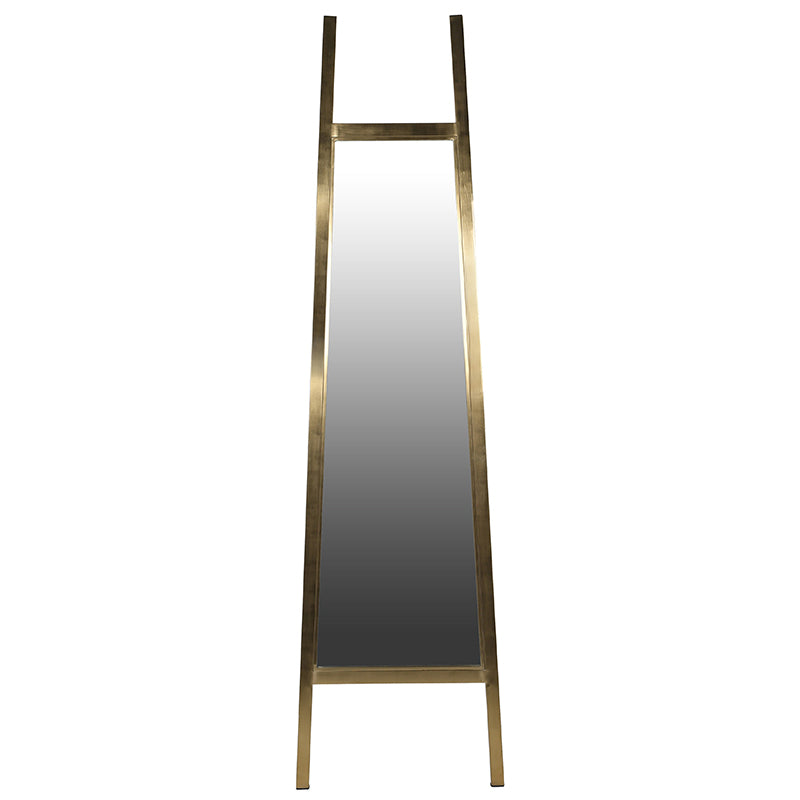 Calindou Mirror in Brushed Gold