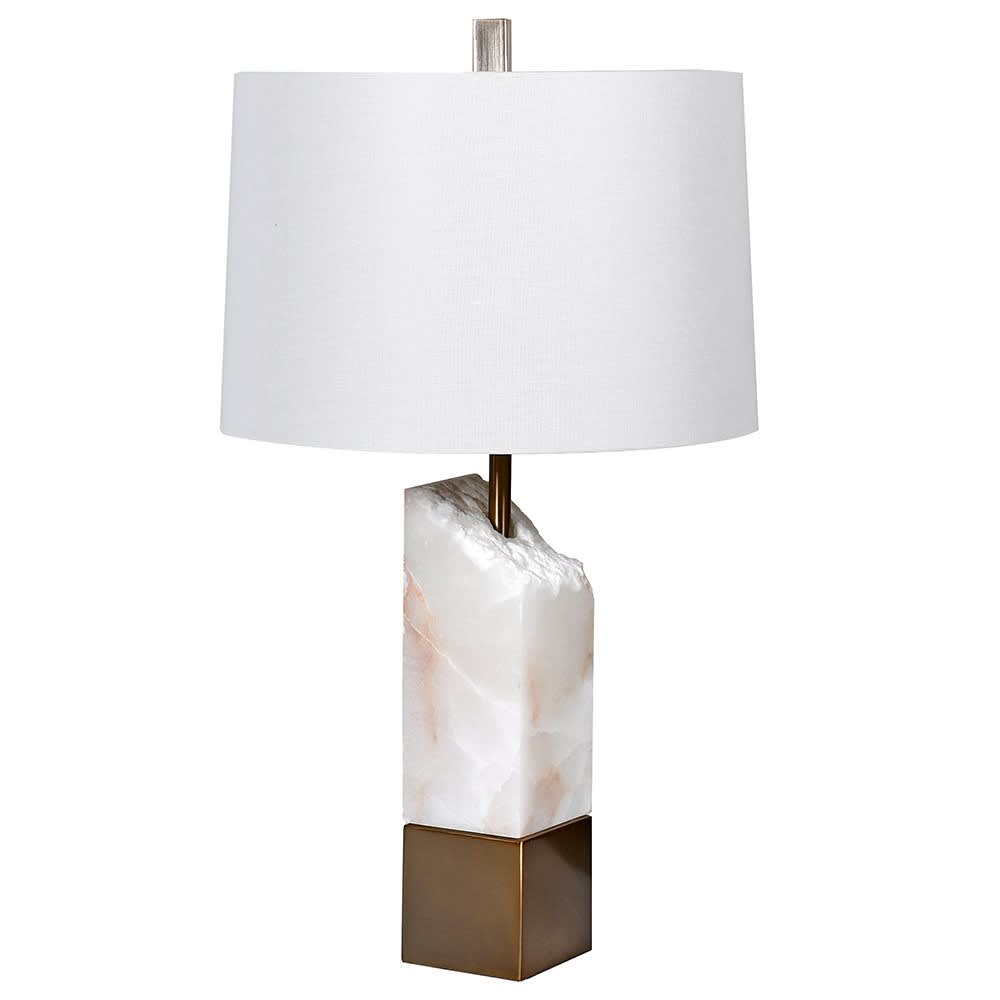 Celeste Table Lamp with Natural Alabaster Stone