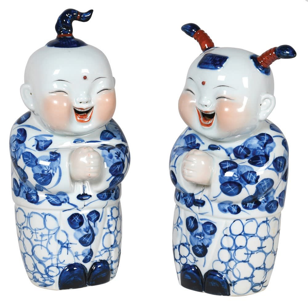 Chi-Ming Ornaments in Chinese Porcelain