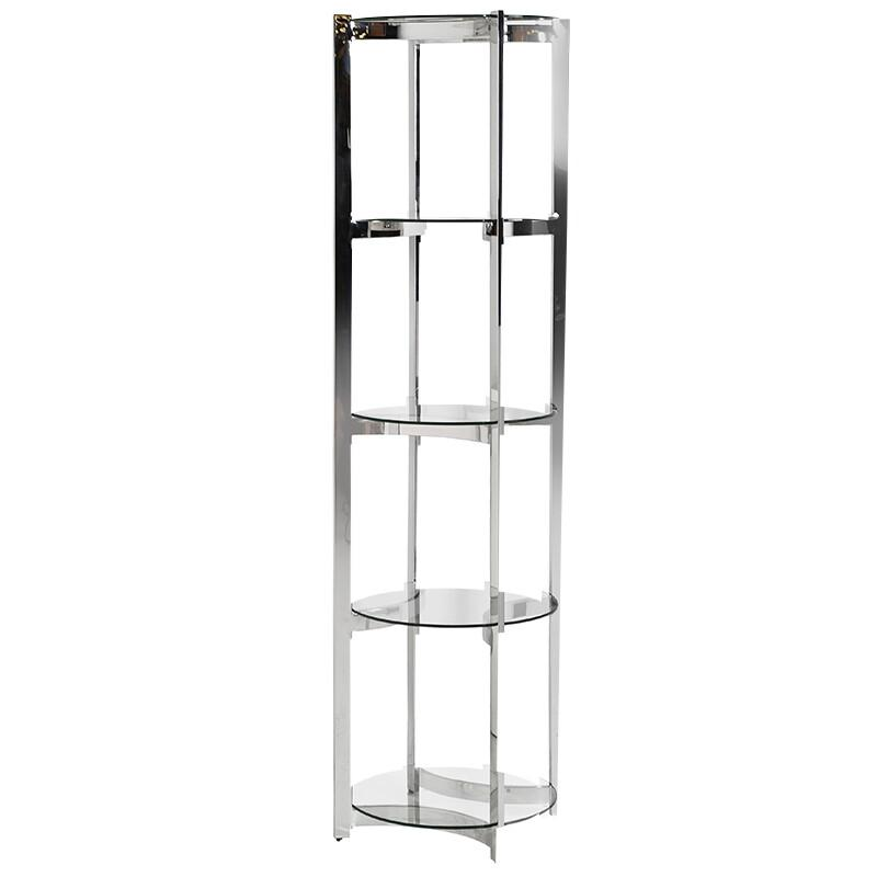 Chicago 4 Tier Round Shelf Unit