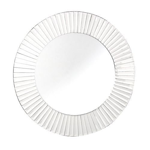 Small Quartz Round Mirror