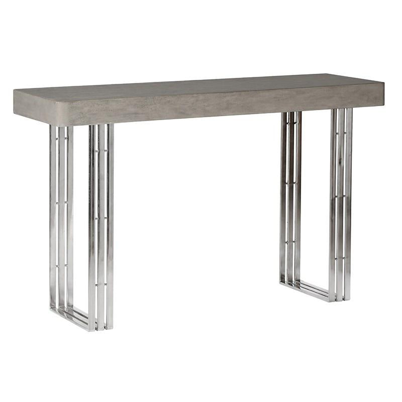 Detroit Concrete Console Table