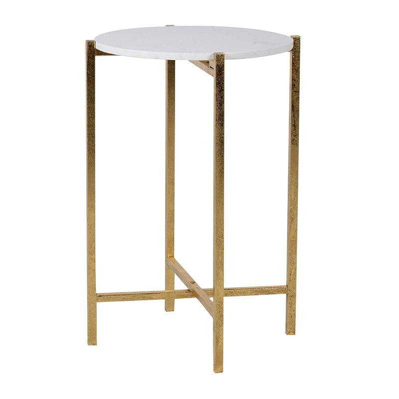Dorian Gold Side Table