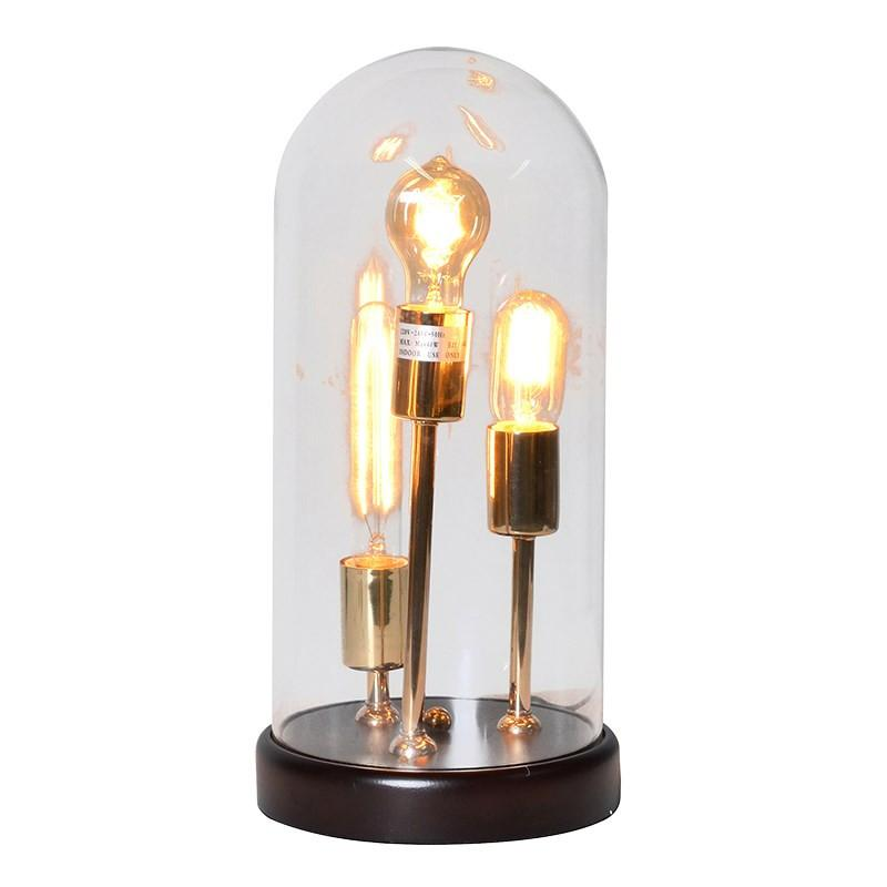 Eclectic Edison Table Lamp
